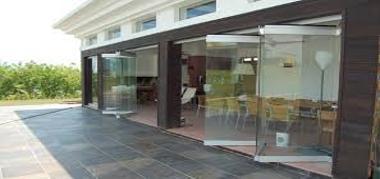 стъклена витрина монтана